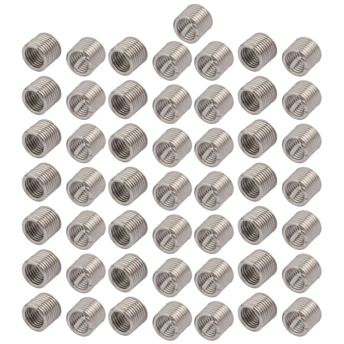 uxcell 8-32x0.328 304 Stainless Steel Helical Coil Wire Thread Insert 25pcs