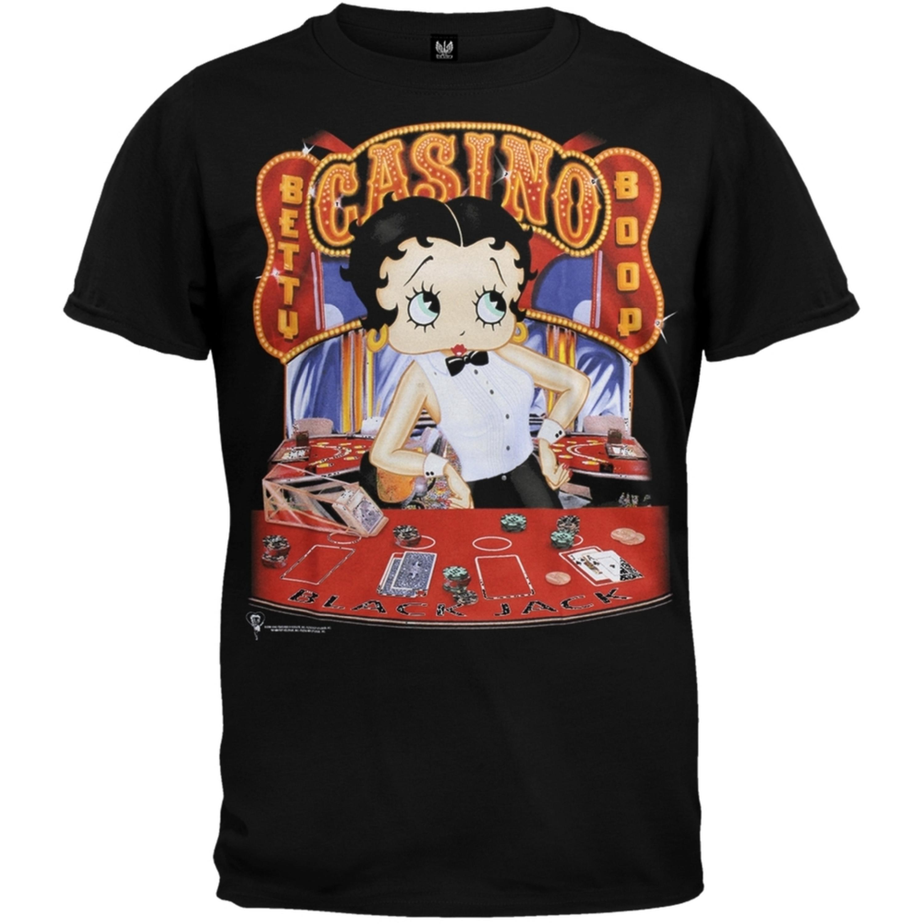 Betty Boop - Black Jack T-Shirt
