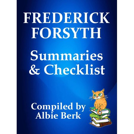Frederick Forsyth: Series Reading Order - with Summaries & Checklist - (Frederick Forsyth Best Sellers)