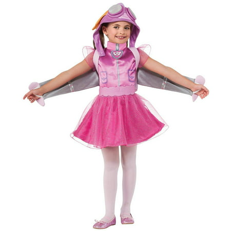 Paw Patrol Skye Toddler Halloween Costume, 3T-4T (Cars Costumes For Toddlers)