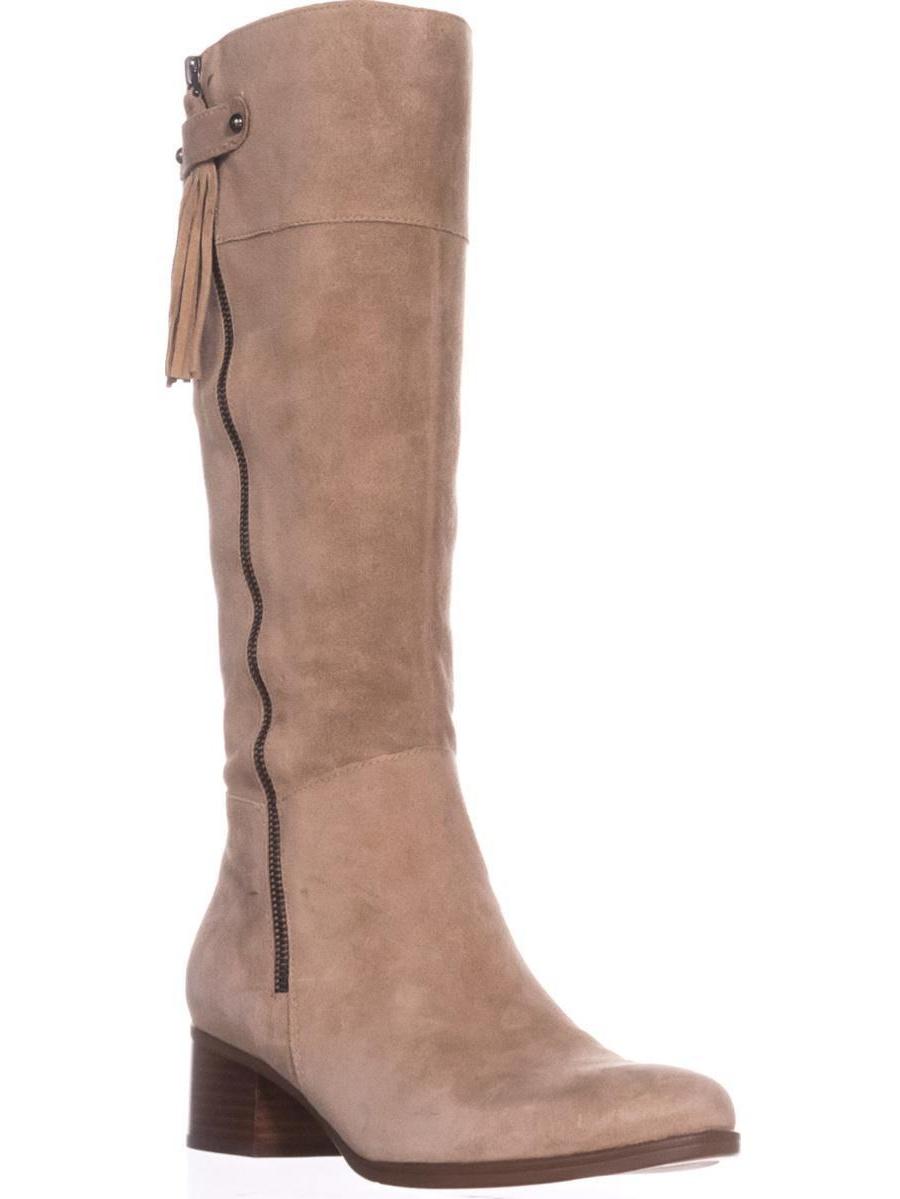 Womens Naturalizer Demi Riding Boots, Oatmeal, 9.5 US   39.5 EU by Naturalizer