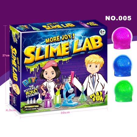 Diy Slime Kit Supplies Stuff Safe Crystal Glitter Slime Making Kit