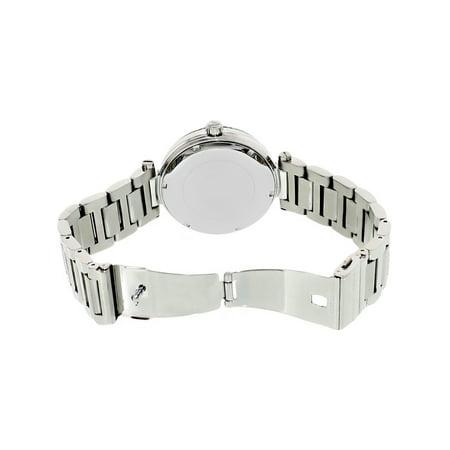 2a8bfdf3c1b3 Michael Kors Women s Skylar MK5866 Silver Stainless-Steel Japanese Quartz  Fashion Watch - image 1 ...