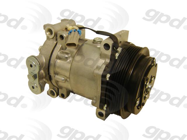 Global Parts 6512055 New Compressor Global Parts Distributors