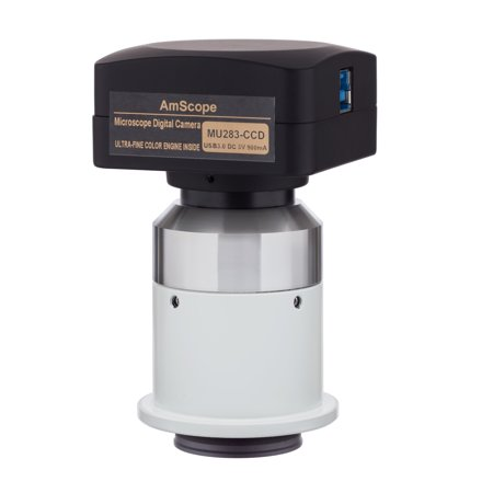 Amscope 2 8Mp Usb3 0 Ccd Fluorescence Digital Camera For Nikon Microscopes
