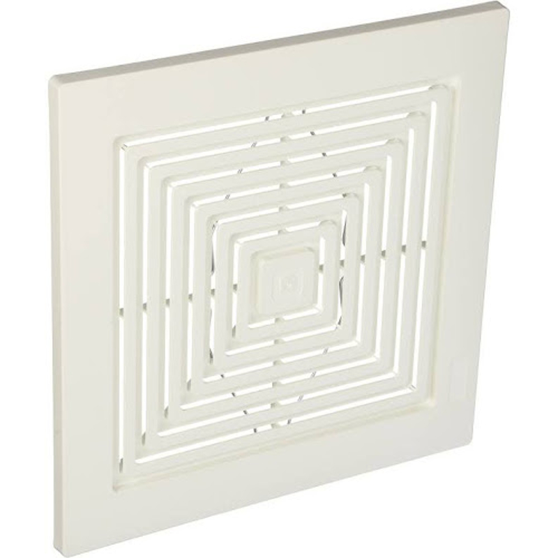 S97011723 Broan Bath Bathroom Ceiling Fan Grille Grill Cover Plastic White Color