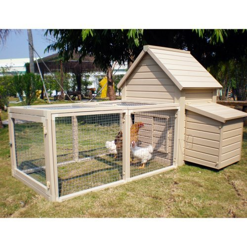 New Age Pet Chicken Barn With Pen