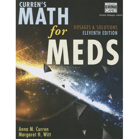 Curren's Math for Meds with Access - Access Code Module