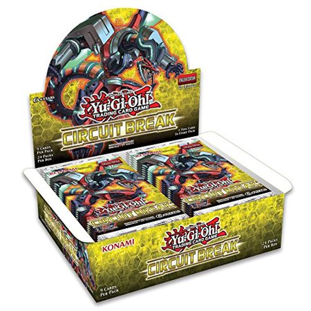 Yugioh Circuit Break 1st Edition Booster Box - 24 packs of 9 - Break Cards
