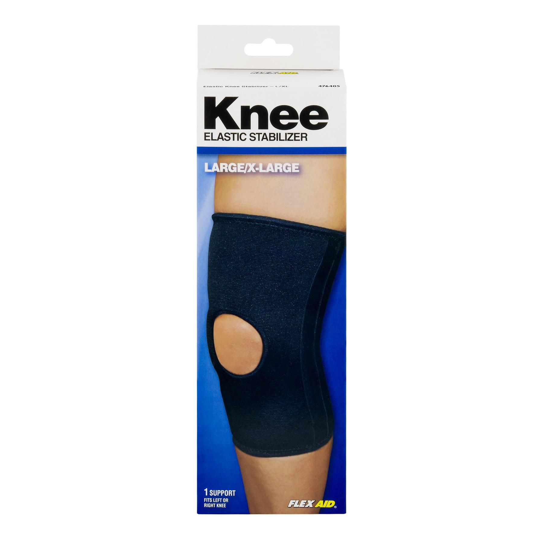 Flex Aid Elastic Knee Stabilizer, Large/X-Large