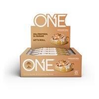 ONE Protein Bar, Cinnamon Roll, 20g Protein, 12 Ct