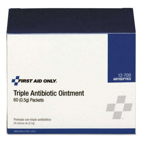 Triple Antibiotic Ointment, 0.5 g Packet, 60/Box ACM12700