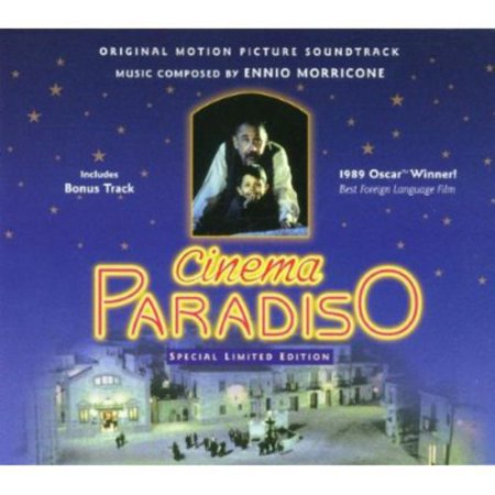 Cinema Paradiso Soundtrack (CD) (Limited Edition) (Love Theme Cinema Paradiso Sheet Music Violin)