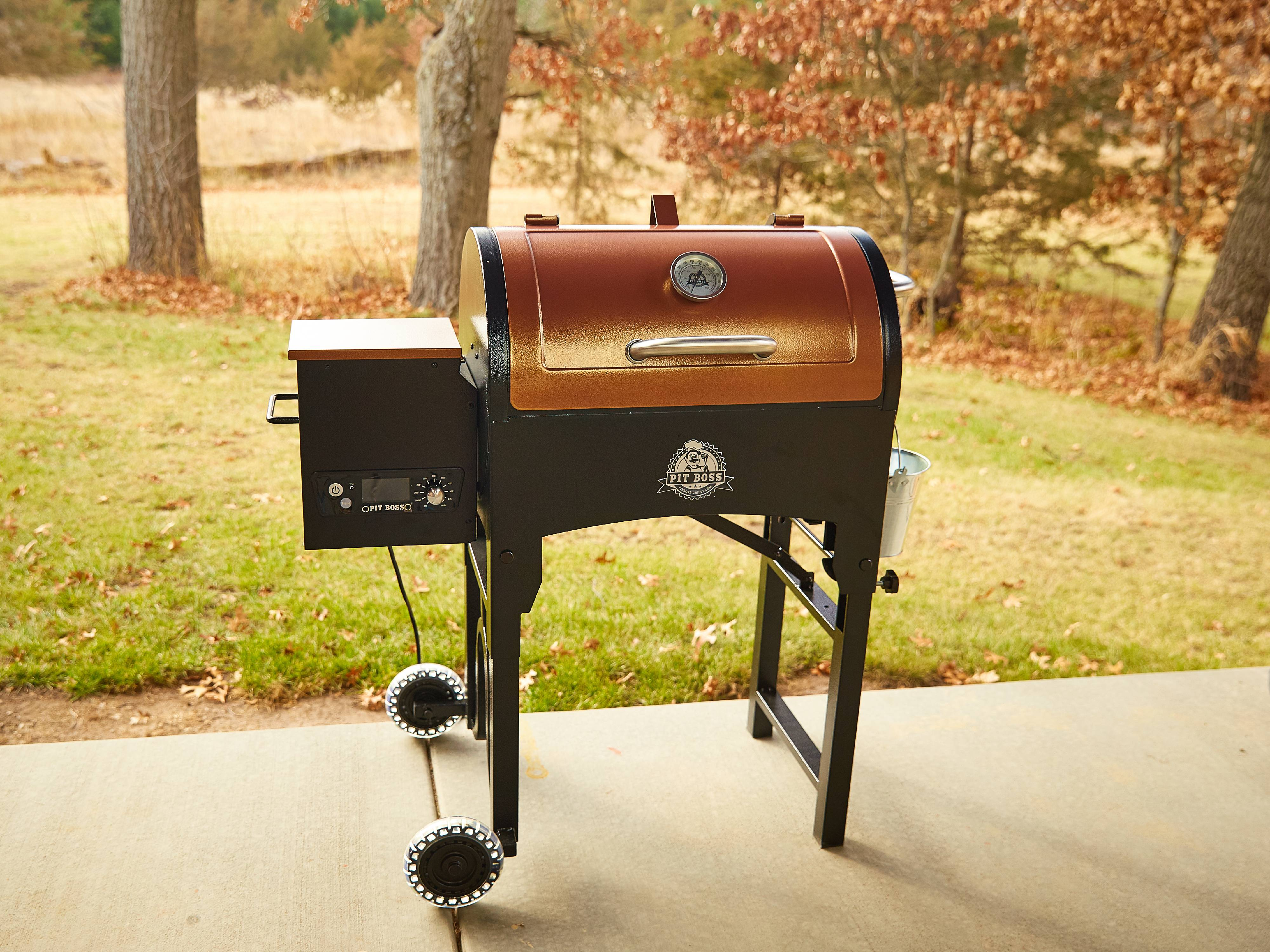 Pit Boss 340 sq  in  Portable Tailgate/Camp Pellet Grill w