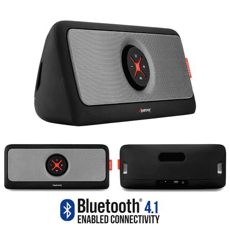 Alpatronix ax440 portable bluetooth speaker wireless for F d portable speakers