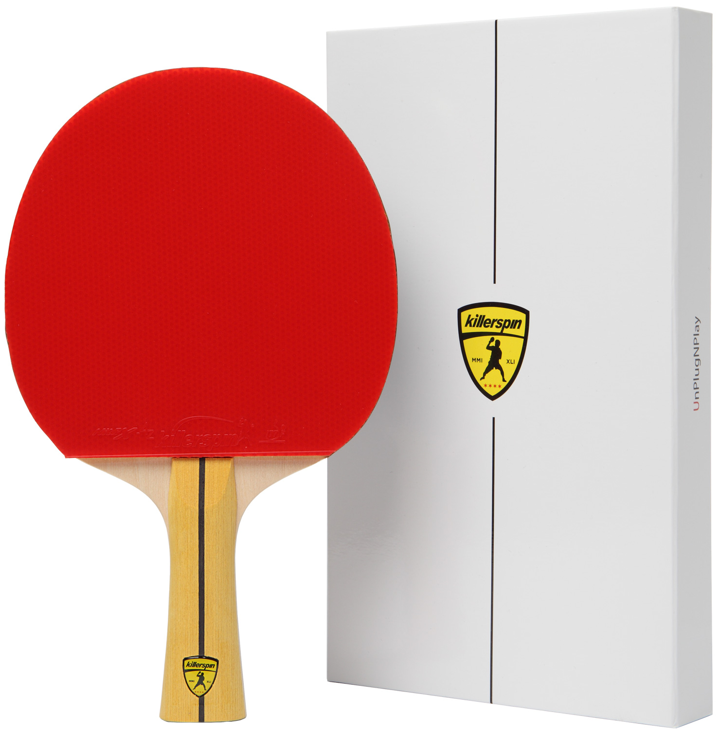 Killerspin JET400 Table Tennis Paddle, Ping Pong Racket