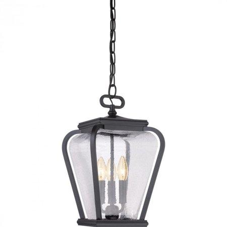Quoizel Province Large Hanging Lantern in Mystic Black - image 1 de 1