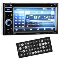 "Boss BV9364B 6.2"" 2-DIN In-Dash DVD/MP3 Bluetooth Touchscreen Car Receiver"