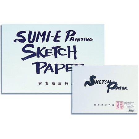 Yasutomo Sumi-E Painting & Sketch Pad, Hosho, 9in x (Painting Pad)