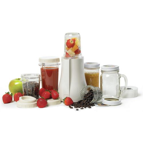 Tribest Mason Jar Personal Blender, White