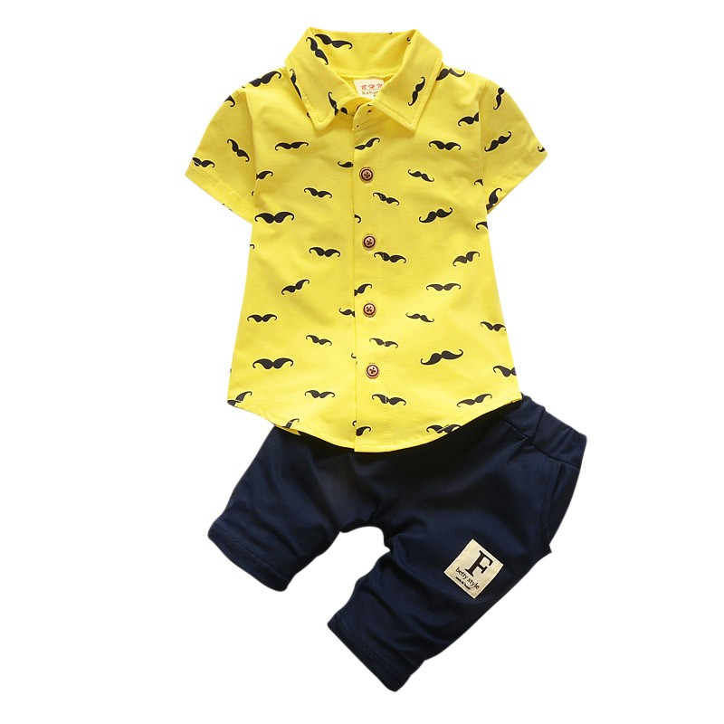 Unotux 3PC Shirt Gray Pants Nectie Set Baby Boy Toddler Kid Formal Suit Sm-178