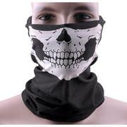Seamless Skull Face Mask - Skeleton Tube Face Mask Rave Mask