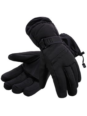 3a003b331 Product Image Toppers Mens Waterproof Thinsulate Lined Winter Warm Ski Gloves  Black XL