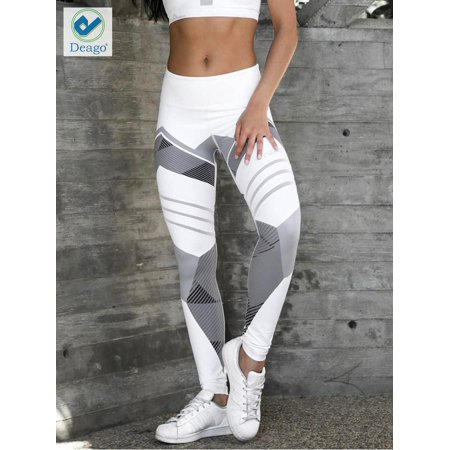3a5eecda5ab Deago Womens Workout Leggings Yoga Gym Joggers Running Fitness Exercise  Sports Pants Trousers Athletic Pants