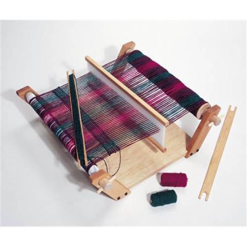 Harrisville Designs F424 Easy Weaver B with 100% wool yarn Materials