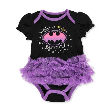 Batgirl Baby Girls' Bodysuit](Toddler Batgirl)