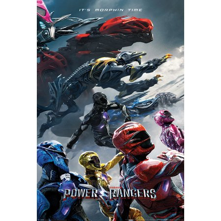 Power Rangers   Movie Poster   Print  Its Morphin Time   Size  24   X 36