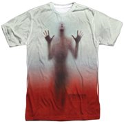 Psycho 1960 Myster Horror Movie Bates Shower Escape Adult 2-Sided Print T-Shirt