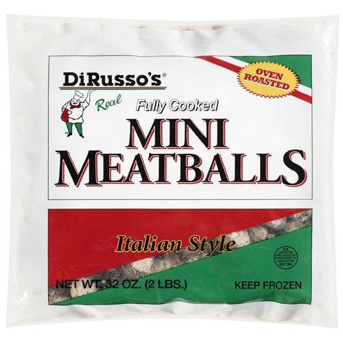 Dirusso's: Italian Style Mini Meatballs, 32 Oz