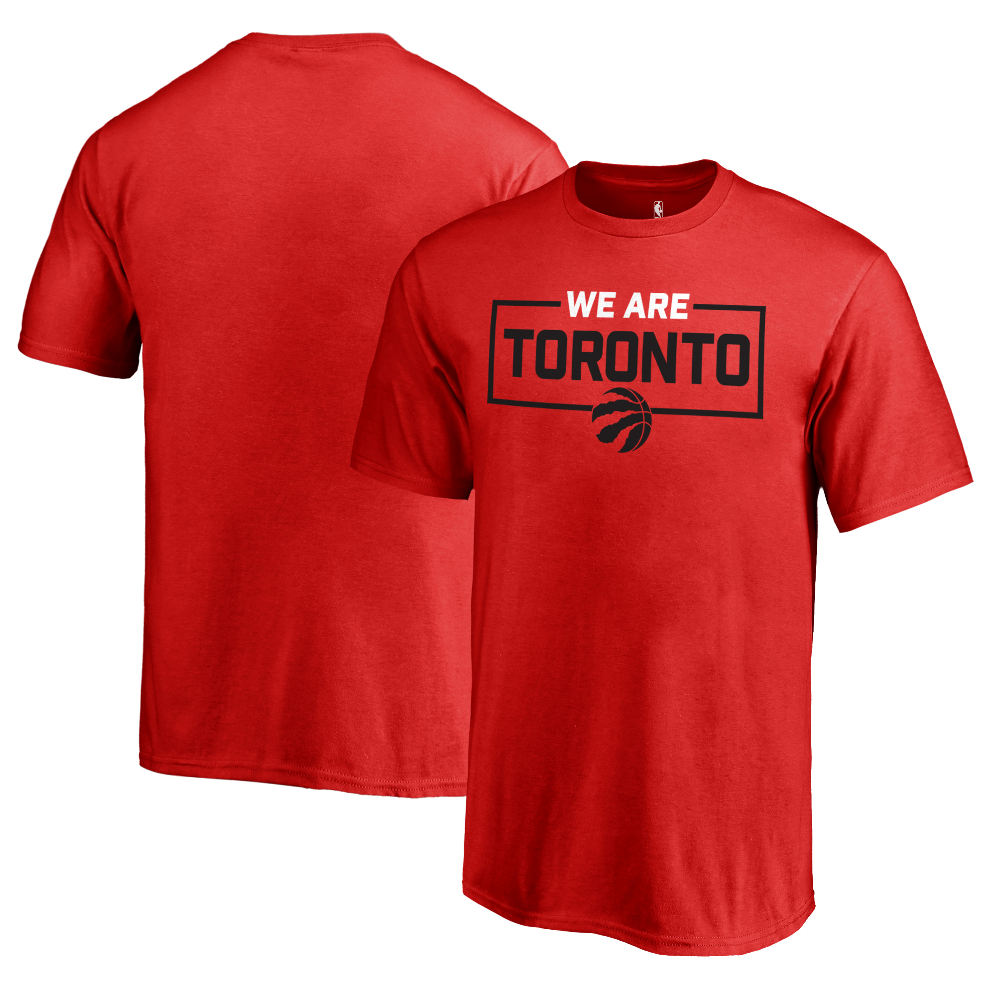 Toronto Raptors Fanatics Branded Youth We Are Iconic Collection T-Shirt - Red