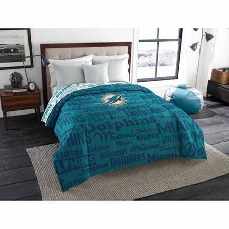 Nfl Miami Dolphins Twin Full Bedding Comforter