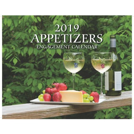 2019 Hors D'oeuvres Wall Calendar,  by Mahoney