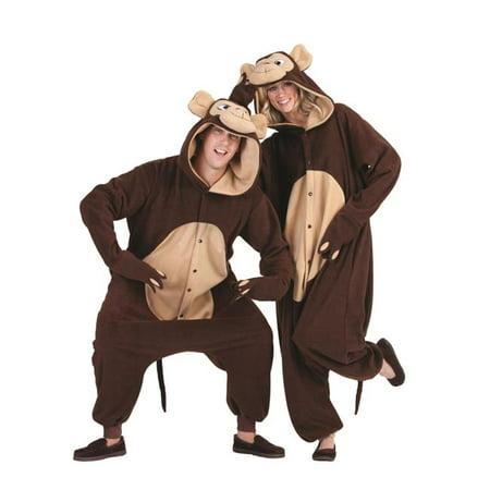 Morgan the Monkey Adult Funsie Costume](Morgen Halloween)