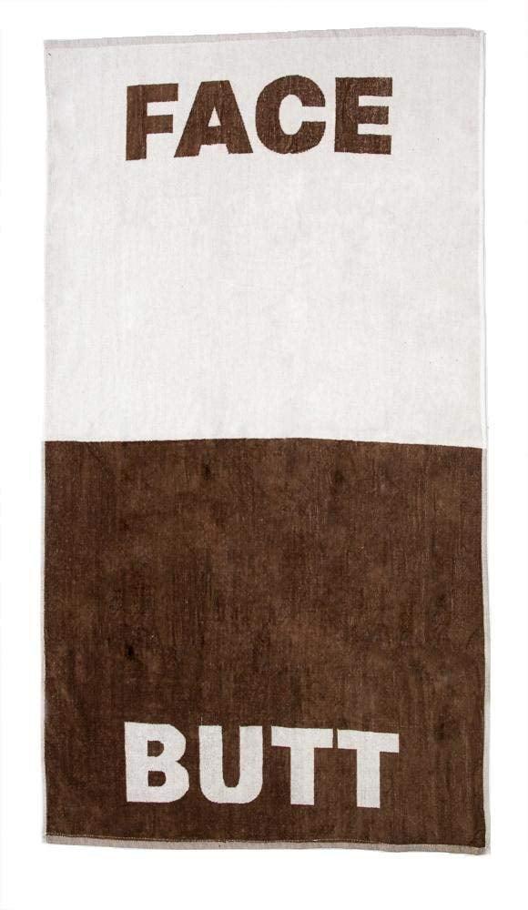 "Lady Sandra Home Fashions The Face Butt Towel | 100% Cotton Beach or Bath Towel 30"" x... by Lady Sandra Home Fashions"