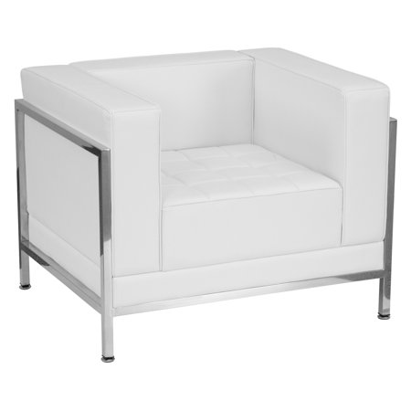 Flash Furniture Hercules Imagination Series Contemporary Reception Chair with Encasing Frame