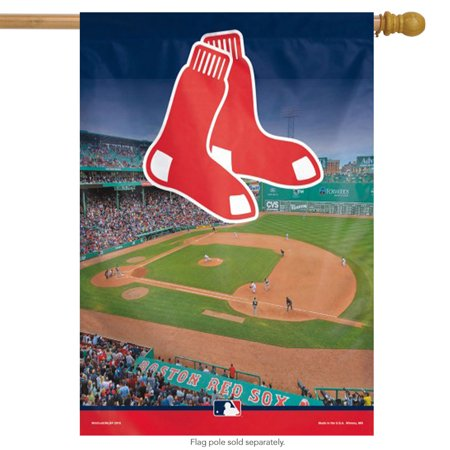 Boston Red Sox Vertical MLB House Flag Licensed 27