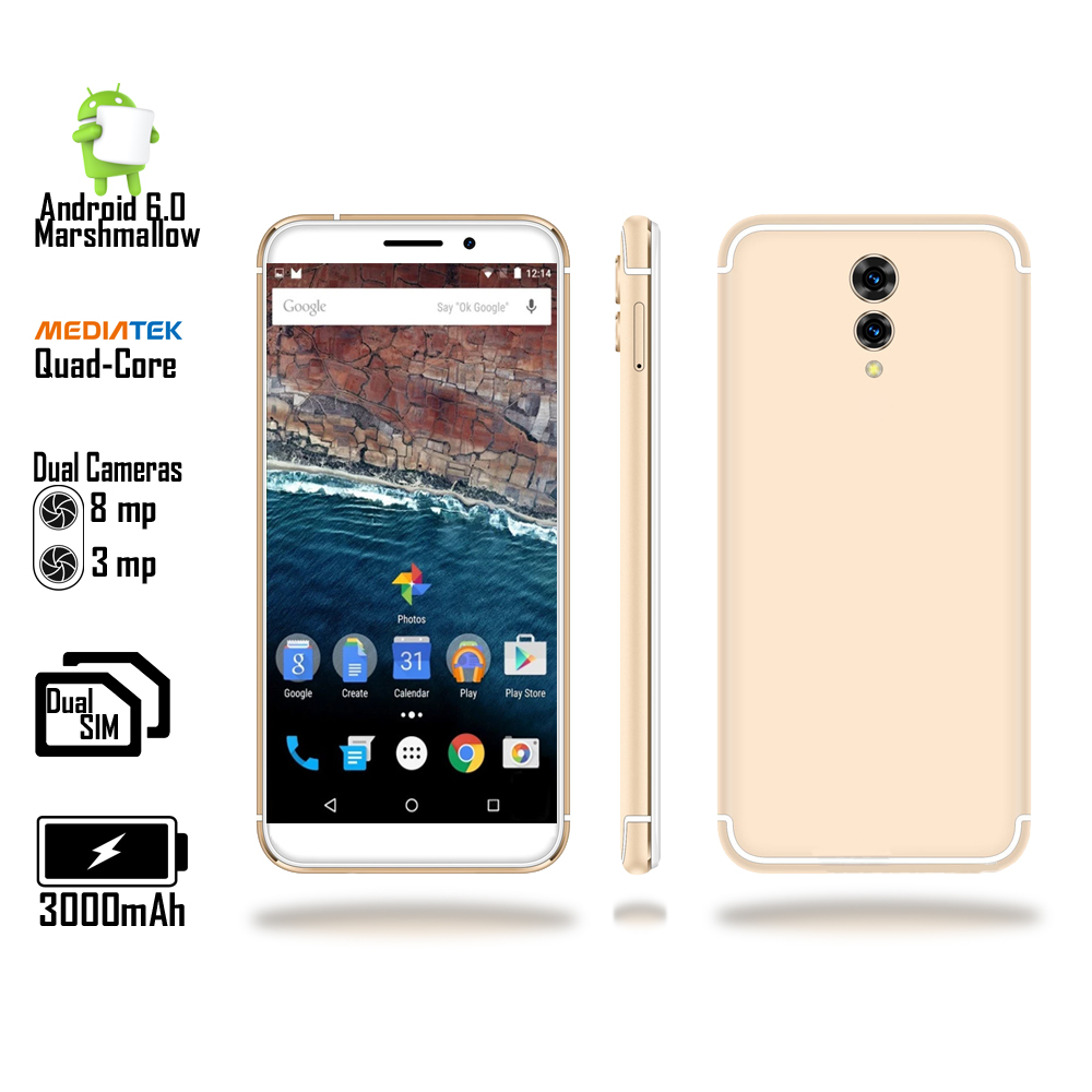 4G LTE GSM Unlocked 5.6-inch SmartPhone by Indigi? [Android Marshmallow OS + DualSIM + Fingerprint Unlock + Google Play