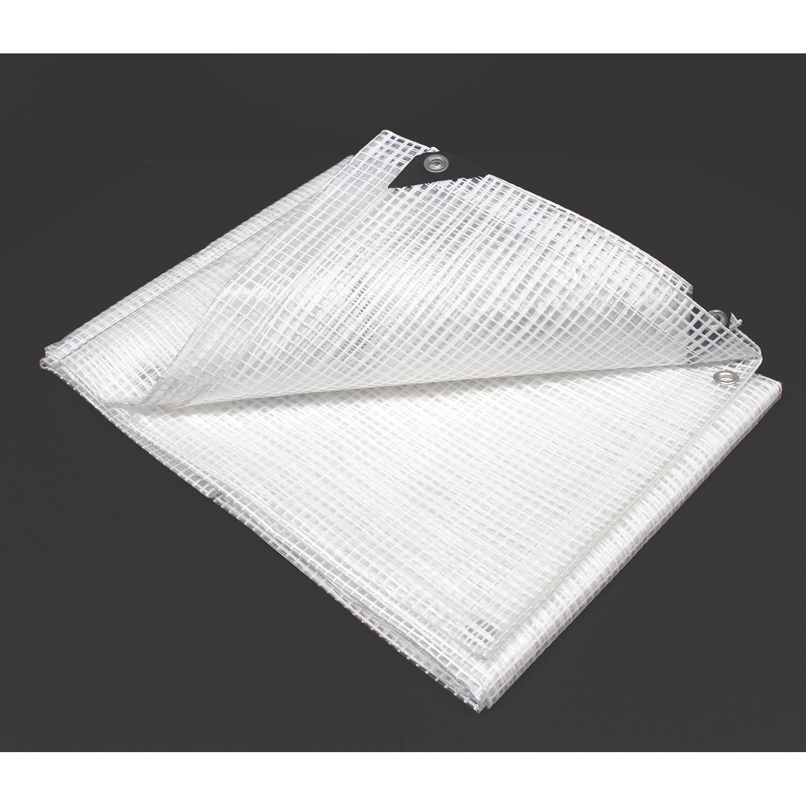 King Canopy Poly Tarp - Clear