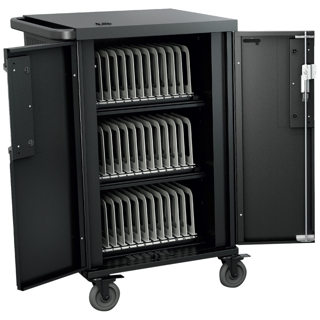 Bretford TCOREX36 Core X Charging Cart AC for up to 36 devices w/Back Panel