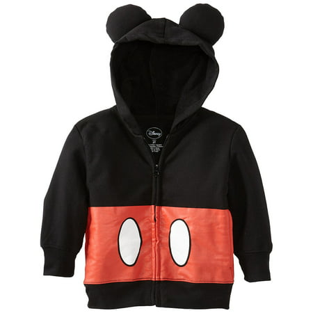 Toddler Boy Costume Hoodie With 3D Ears - Mickey Costume Toddler
