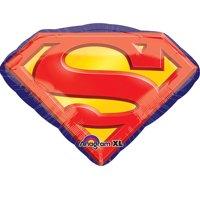 "Superman Logo Foil Balloon 26"""