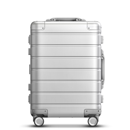 Xiaomi 90FUN Spinner Wheel Luggage Travel Suitcase 20-inch Carry-on with Y belt Pull-rod top-grade all-aluminum magnesium alloy Body Coded (The Best Alloy Wheels)