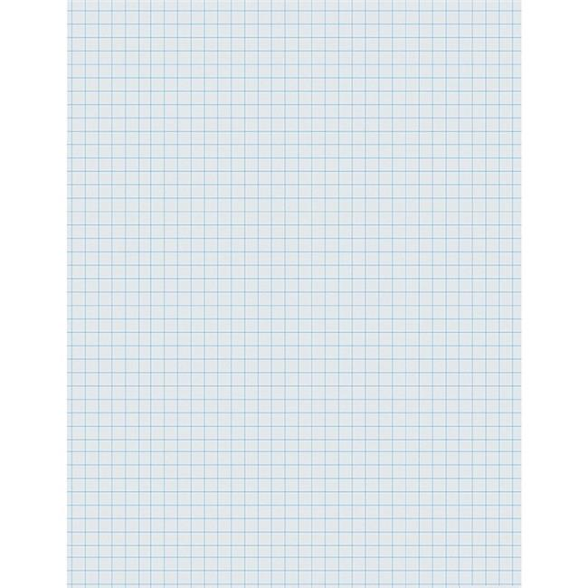 Pacon PAC2411BN 8.5 x 11 in. Composition Paper Ream 0.25 in. Quadrille - 2 Ream