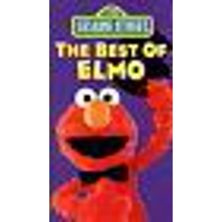 The Best of Elmo VHS Sesame Street 1994 Tested RARE COLLECTIBLE (Opening To The Best Of Elmo 1994 Vhs)