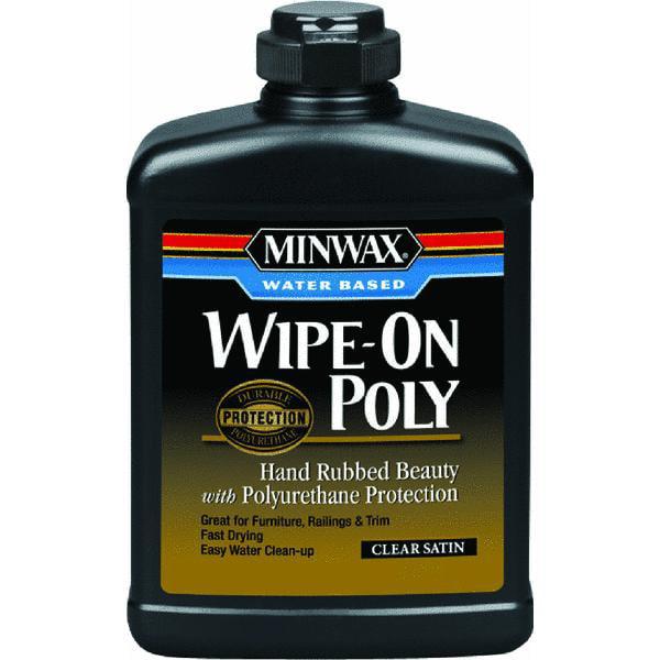 Minwax Polyurethane Clear Satin Aerosol 11 5 Oz Walmart Com