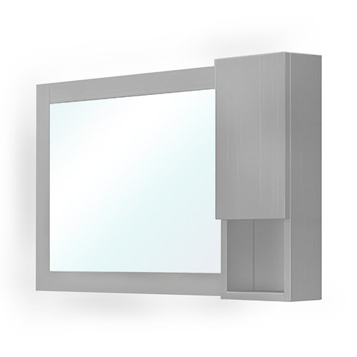 Orren Ellis Schaefer Mirror 40.3'' x 23.6'' Surface Mount Medicine Cabinet by